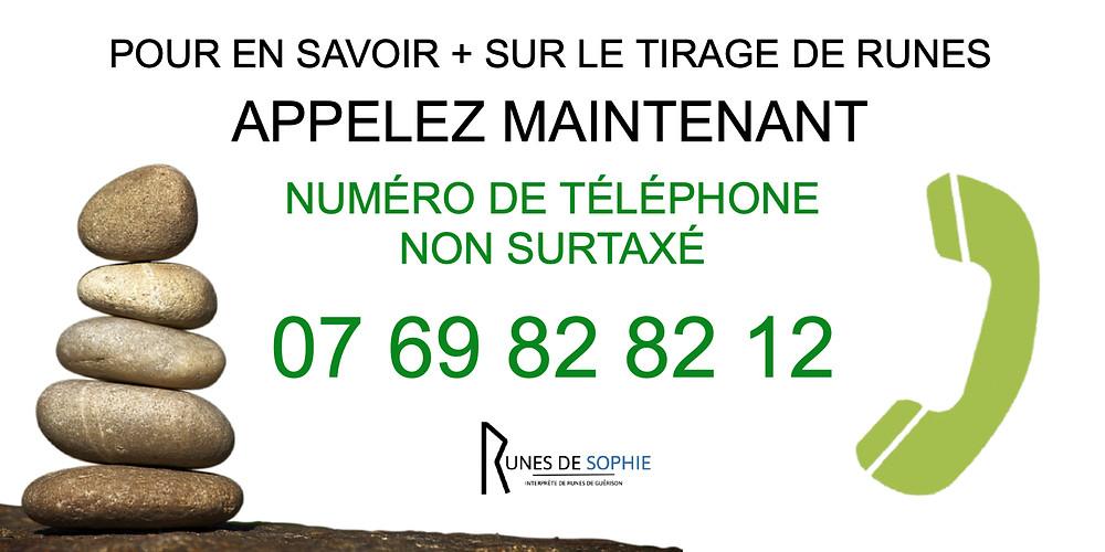 Tirage de runes en ligne et par téléphone