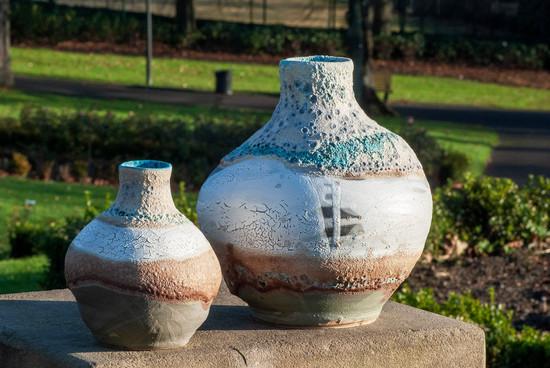 Bottle Ocean vases