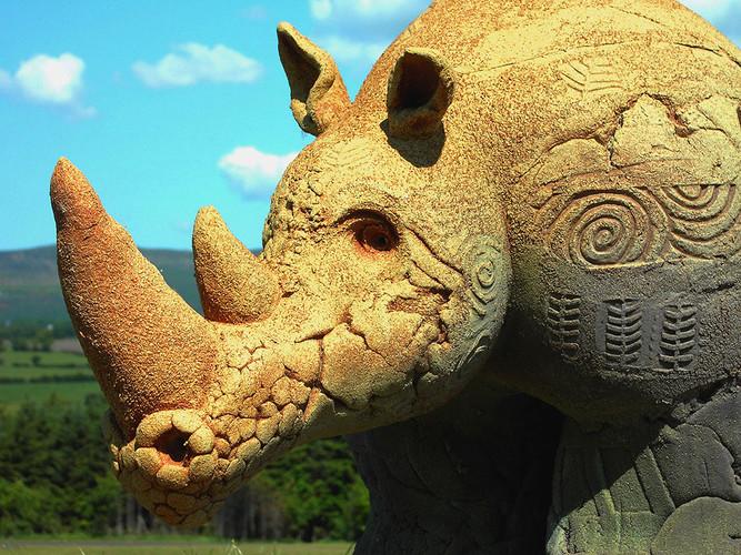Textured Rhino