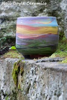 Sunset pot