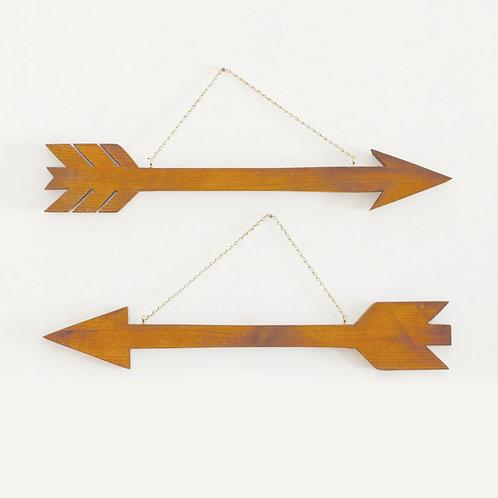 Large Wooden Arrow