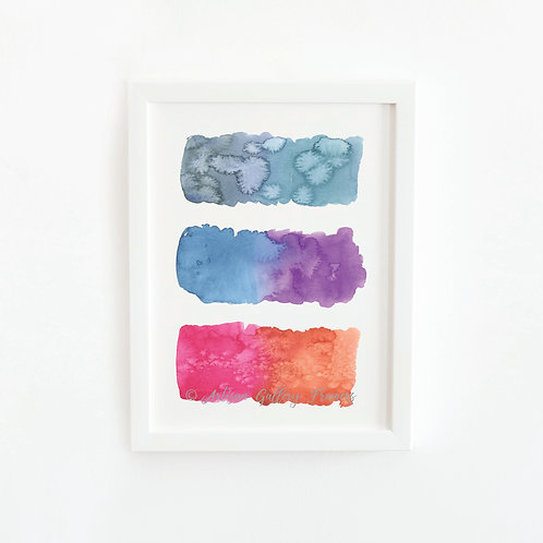 Watercolor Swatches #4