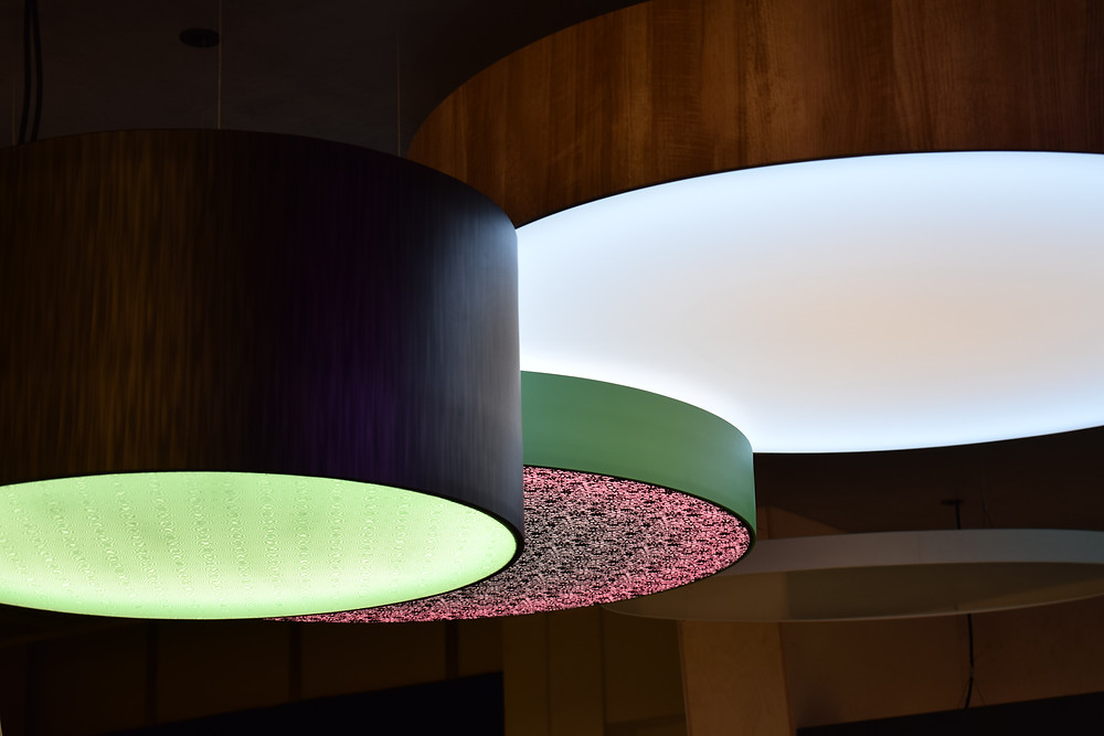 dizajnové svietidlo LED svetelná výbava svetelné stropy