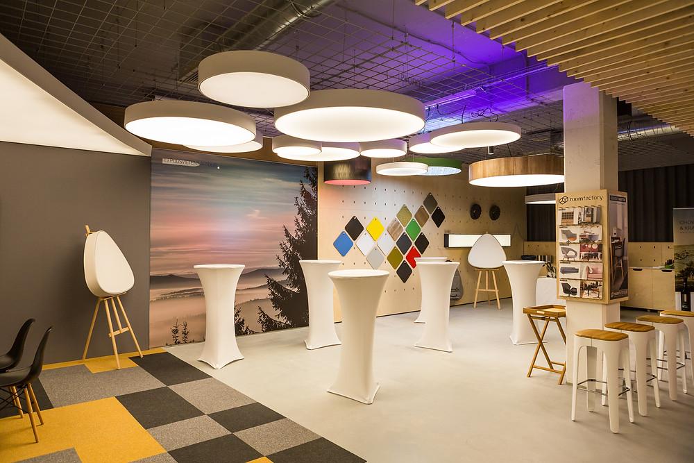 dizajnové LED svietidlá na mieru svetelné stropy