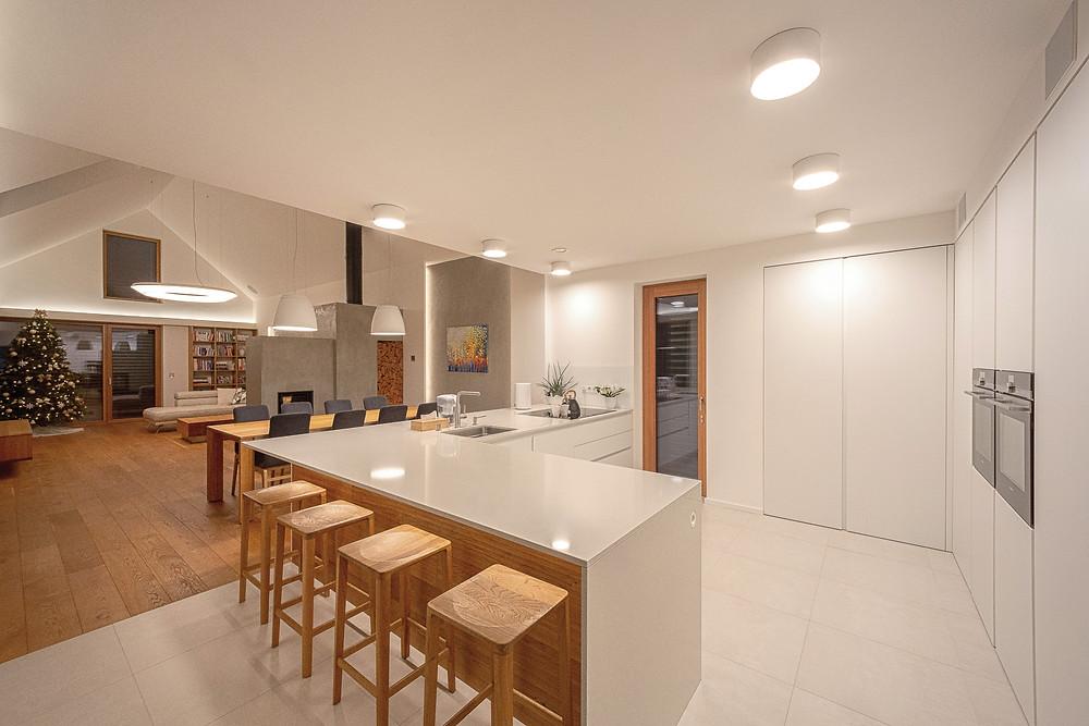 osvetlenie kuchyne LED bodovky svetelné stropy