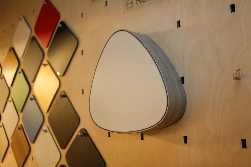 dizajnové LED svietidlo dekór architektonické fólie