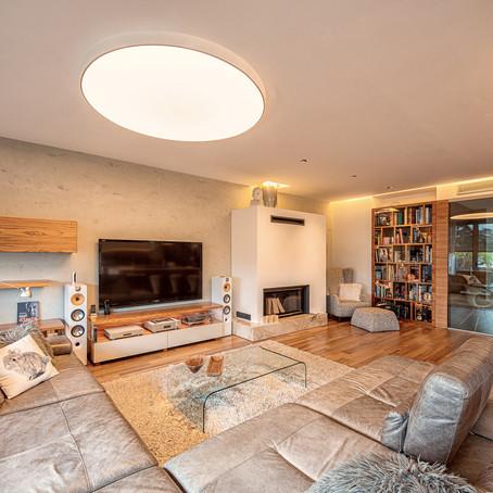 Zdravé plnospektrálne svetlo v interiéri