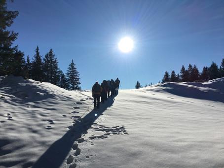 07. / 08.01.2022 Schneeschuhlaufen Tobias