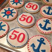 50th Birthday, Anchor Theme