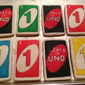 Uno Playing Cards, 1st Birthday
