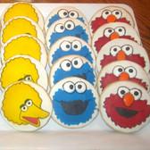 Sesame Street- Big Bird, Cookie Monster & Elmo