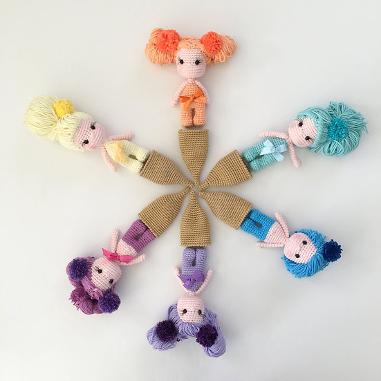 PATTERN for baby ice cream doll