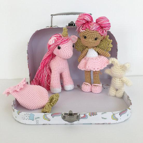 Pinky fairy set