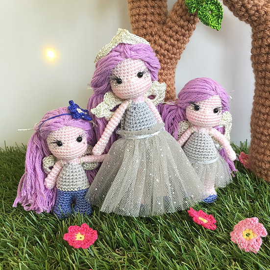 Big sister and Mommy fairy pattern