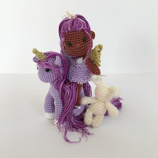 Lilac fairy set