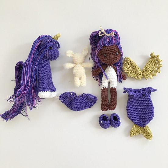 Violet fairy set