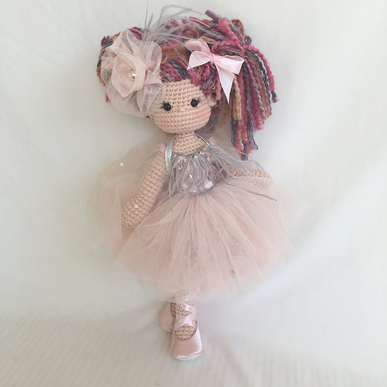 salmon couture doll