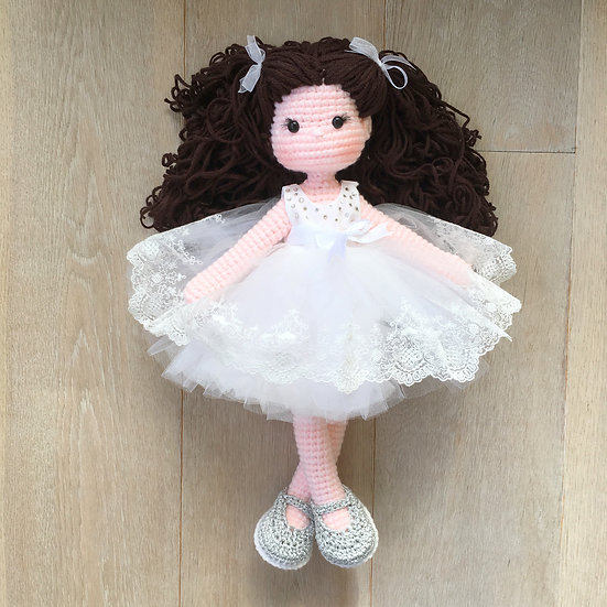 limited edition curly haired doll