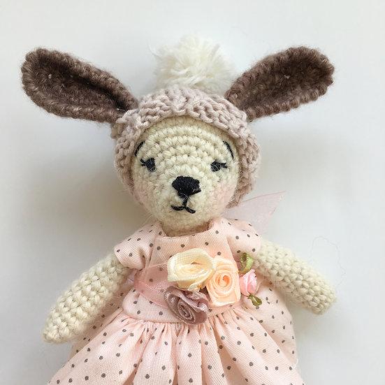 bunny in a box cream girl