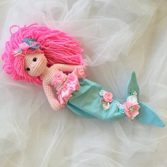 teal mermaid