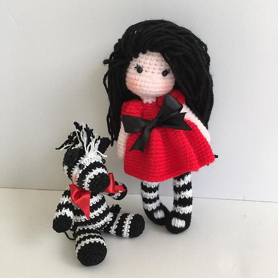 Aya doll pattern