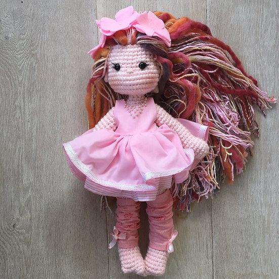 Pink flower baby