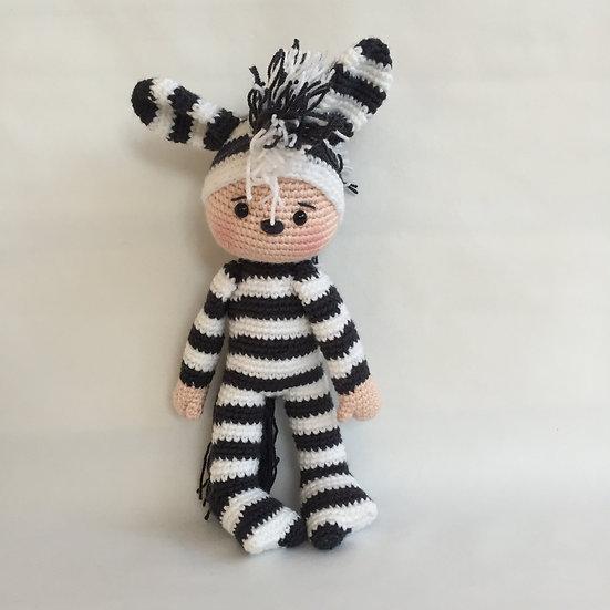 Munchkin zebra pattern