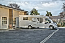 Oxford Village Motels - Specious car park