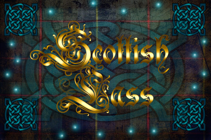 Scottish Lass Title Image in GOLD create