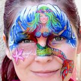 Rainbow Mermaid Mask