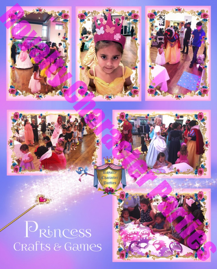 Customer Collage Princess Crafts & Games