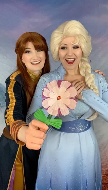 Ice Princess - Cupcake Liner Flowers