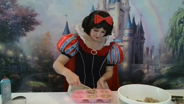 Snow White - Bird Feeder Craft