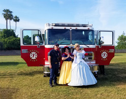 Snow and Cindy with Firemen.jpg