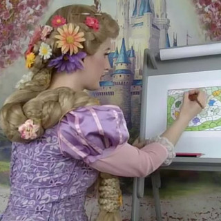 Rapunzel - Color by Number