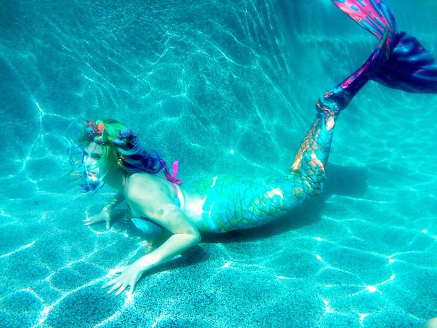 Enfys, The Rainbow Mermaid