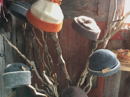 A wool-QUIET-small-hat-making day