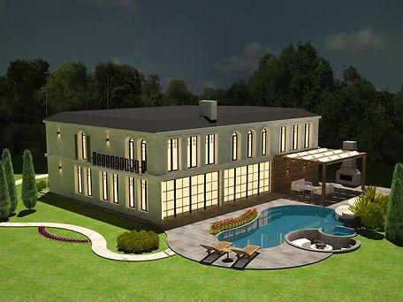 toscana villa, interior design, icmimarlik, luxurious, architecture