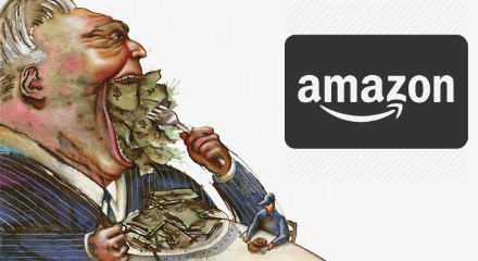 Amazon's ugly side.