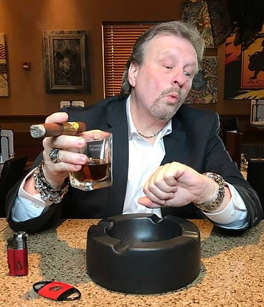 Tommy Zman cigar & whiskey