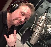 Tommy Zman in the studio