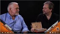 Tommy Zman interviewing Flyers Bernie Parent