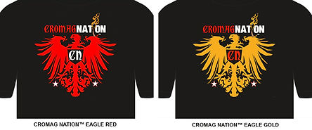 Tommy Zman's CROMAG NATION shirts