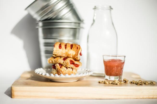 Pâtisserie rhubarbe