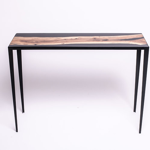 Wild Olive & Resin entrance table