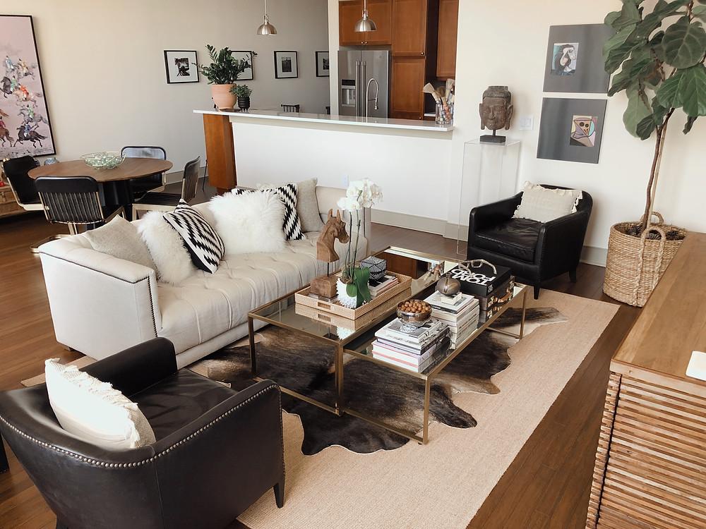 Living Room Reveal | Hello_Francois | Dallas Men's Fashion & Lifestyle Blogger