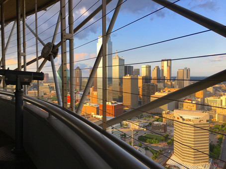 Reunion Tower : 560 Feet Above Ground