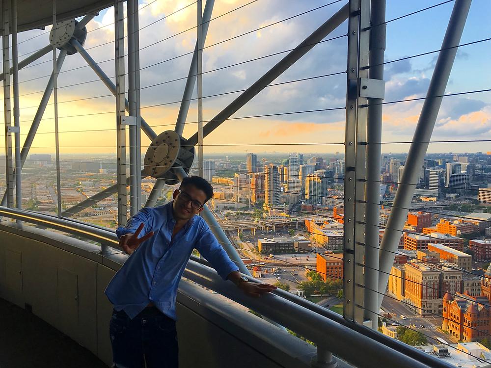 Reunion Tower GeO-Deck | Hello_Francois | Dallas Men's Fashion & Lifestyle Blogger