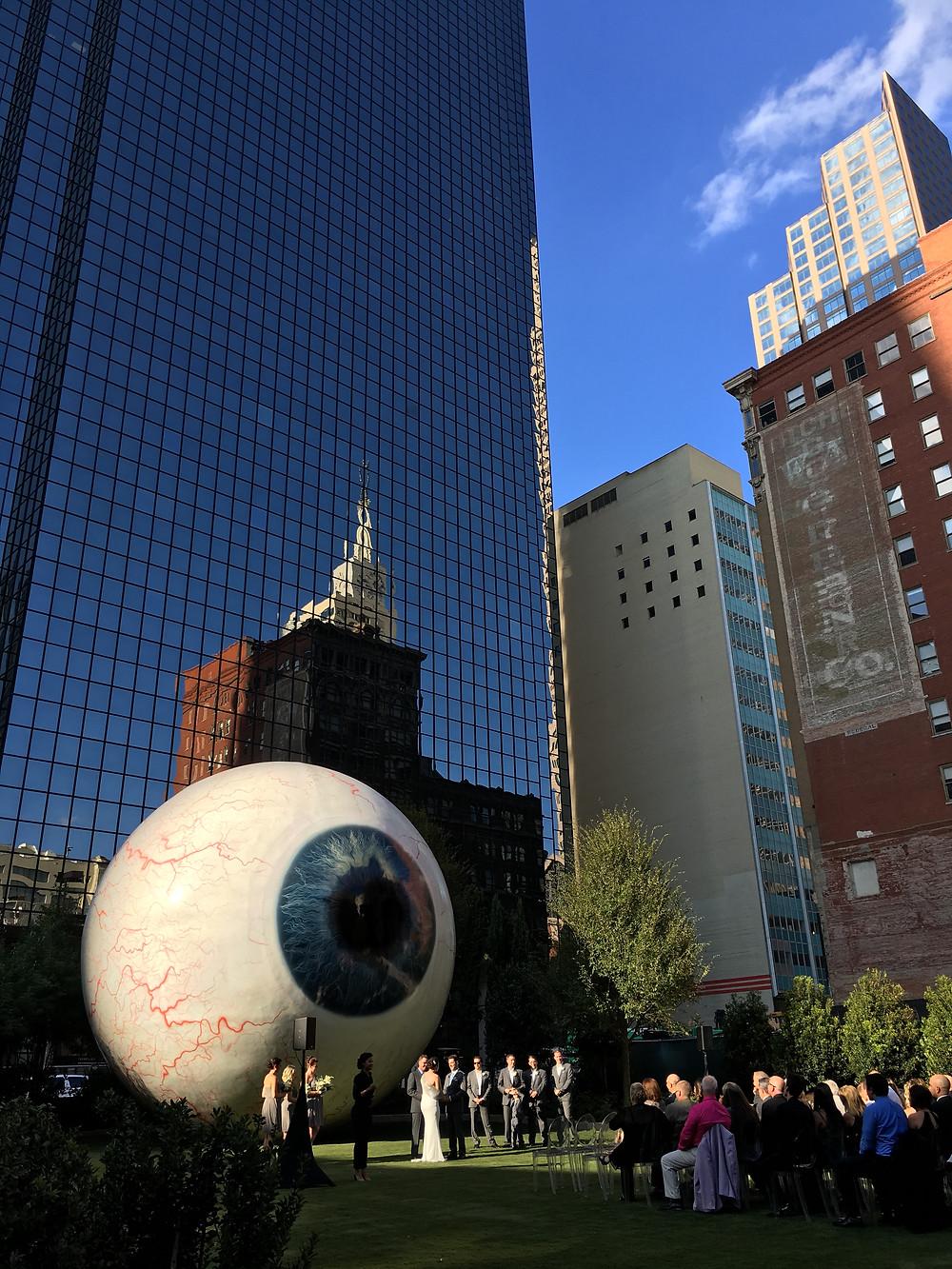 Giant Eye Ball | Hello_Francois | Dallas Men's Fashion & Lifestyle Blogger
