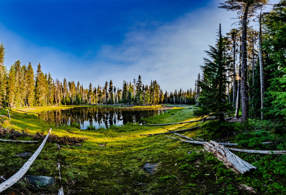 No Name Lake Sunrise- Three Sisters Wilderness